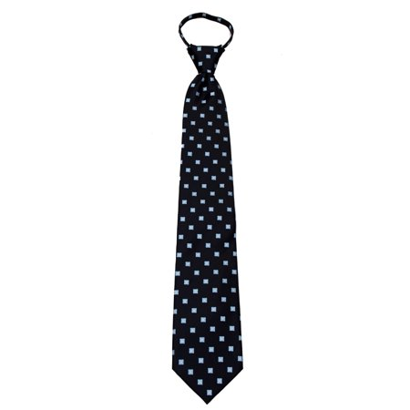 Mens Pre Made Pattern Geometrics Fashion Designer Zipper Necktie Missouri Tie Pattern