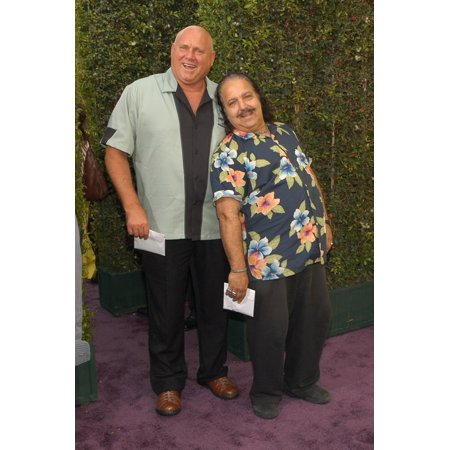 Dennis Hof Owner Of The Bunny Ranch Ron Jeremy At Arrivals For Flava Flav Roast By Comedy Central The Warner Brothers Lot Los Angeles Ca July 22 2007 Photo By Tony GonzalezEverett Collection