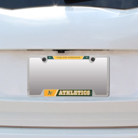 Oakland Athletics Chrome License Plate (Oakland Athletics WinCraft Metal License Plate Frame - No Size)