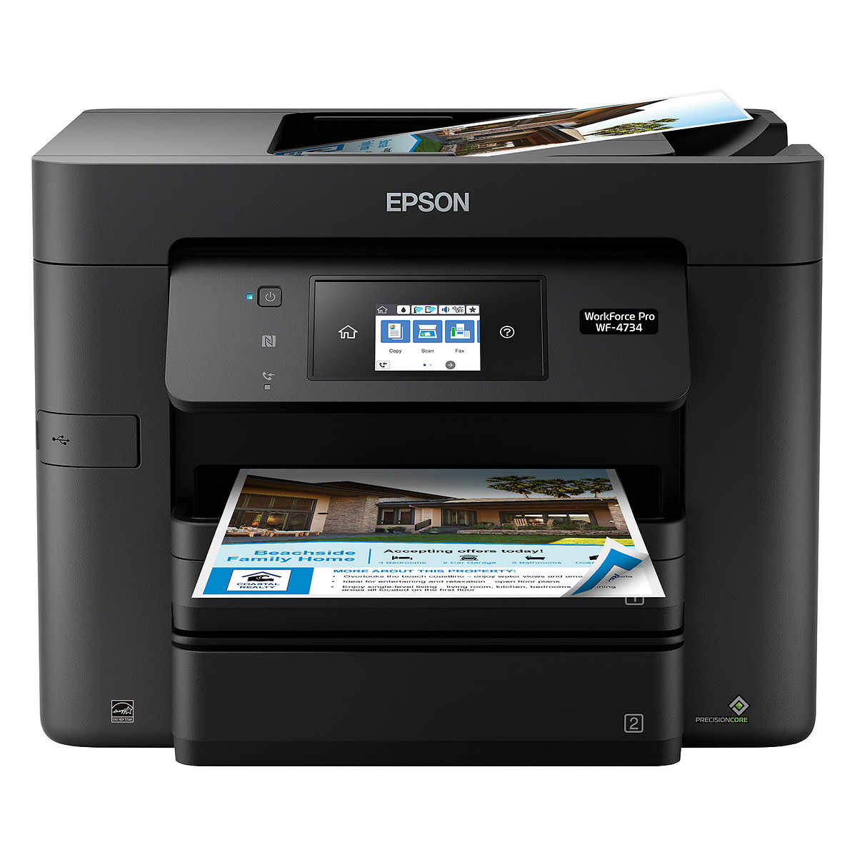 Epson WorkForce WF-4734 All-in-One Color Inkjet Printer by Epson