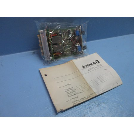 734 Series - New Acromag 734-C-5G Series 700 Model 734 Deviation Alarm PLC Board NIB