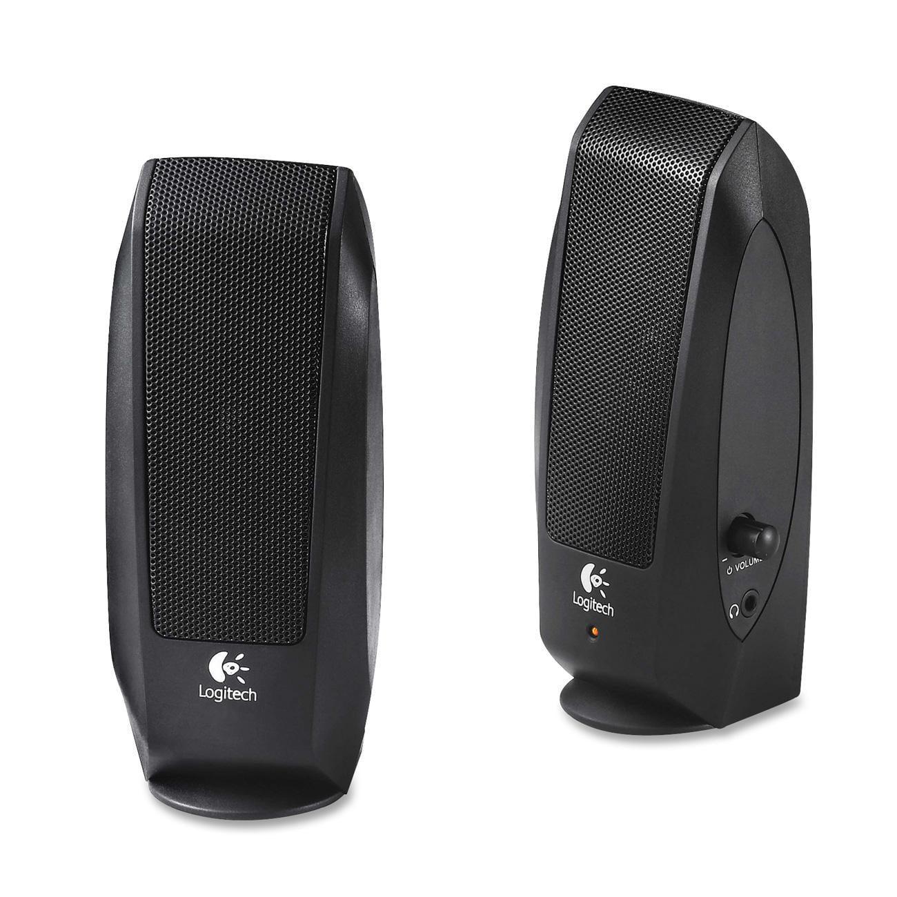 Logitech S-120 2.0 Speaker System - 2.30 W RMS - Black