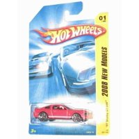 2008 New Models #1 '07 Shelby GT-500 Ford Mustang Red #2008-1 Collectible Collector Car Mattel Hot Wheels