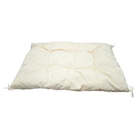 74'' x 46'' LIGHT KHAKI Hammock Pillow Sun Lounge  Chaises SunBed Cushion - 46 Lounge Halloween