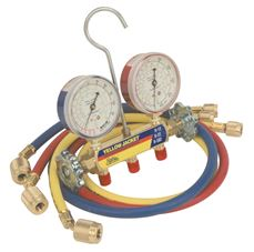 Yellow Jacket Series 41 Charging Manifold Assembly For R-22, R-404A, And R-410A