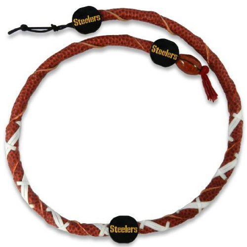 Pittsburgh Steelers Leather Rope Necklace