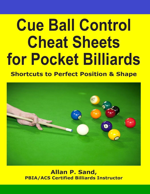 Cue Ball Control Cheat Sheets for Pocket Billiards - Walmart.com