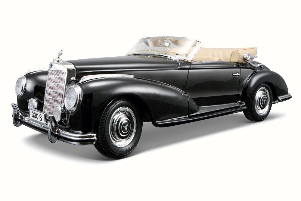 Mercedes-Benz 3005 Convertible, Black Maisto 31806BK 1 18 Scale Diecast Model Toy Car by Maisto