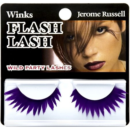 Jerome Russell Winks Flash Lash Wild Party Lashes Flash Lash 80's Violet Flash (Wink Lashes)