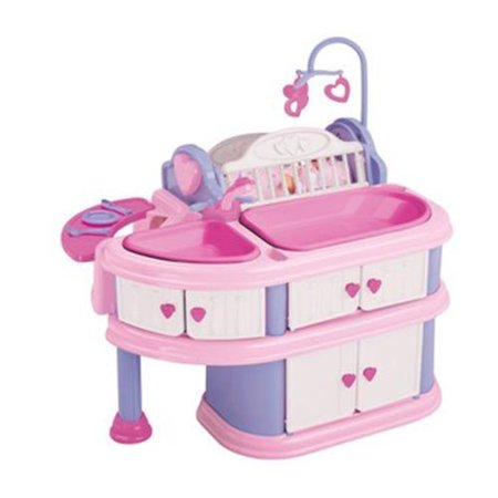American Plastic Toys Deluxe Doll Nursery 23610