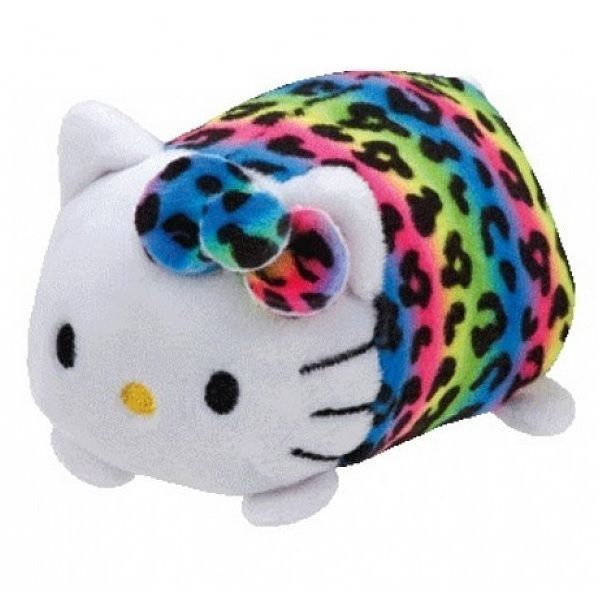 Hello Kitty Rainbow Teeny Ty Stuffed Animal by Ty (42178) by TY