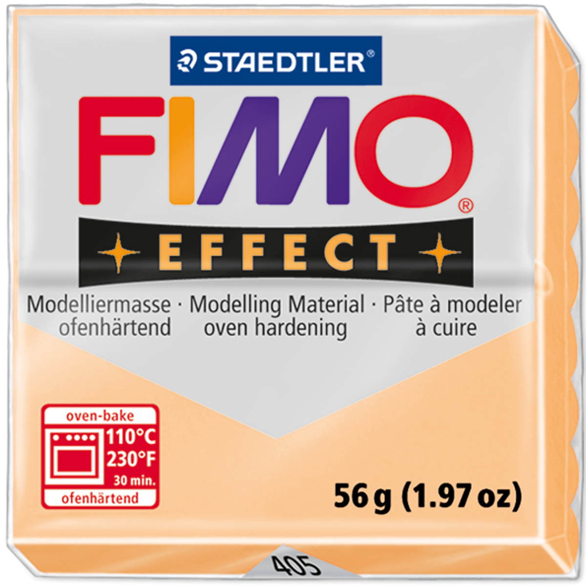 Fimo Effect Polymer Clay 2oz-Peach