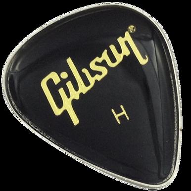 ReadyGolf - Gibson Guitar Pick Ball Marker & Hat Clip - Black