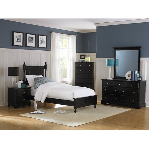 Woodhaven Hill Morelle Panel Customizable Bedroom Set