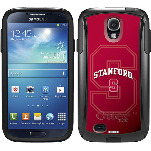 Stanford University Cardinal Watermark Design on OtterBox Commuter Series Case for Samsung Galaxy S4