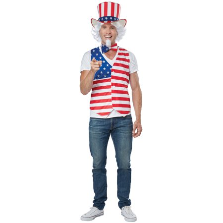 Patriot Costume (Patriot Man Adult Costume Kit)