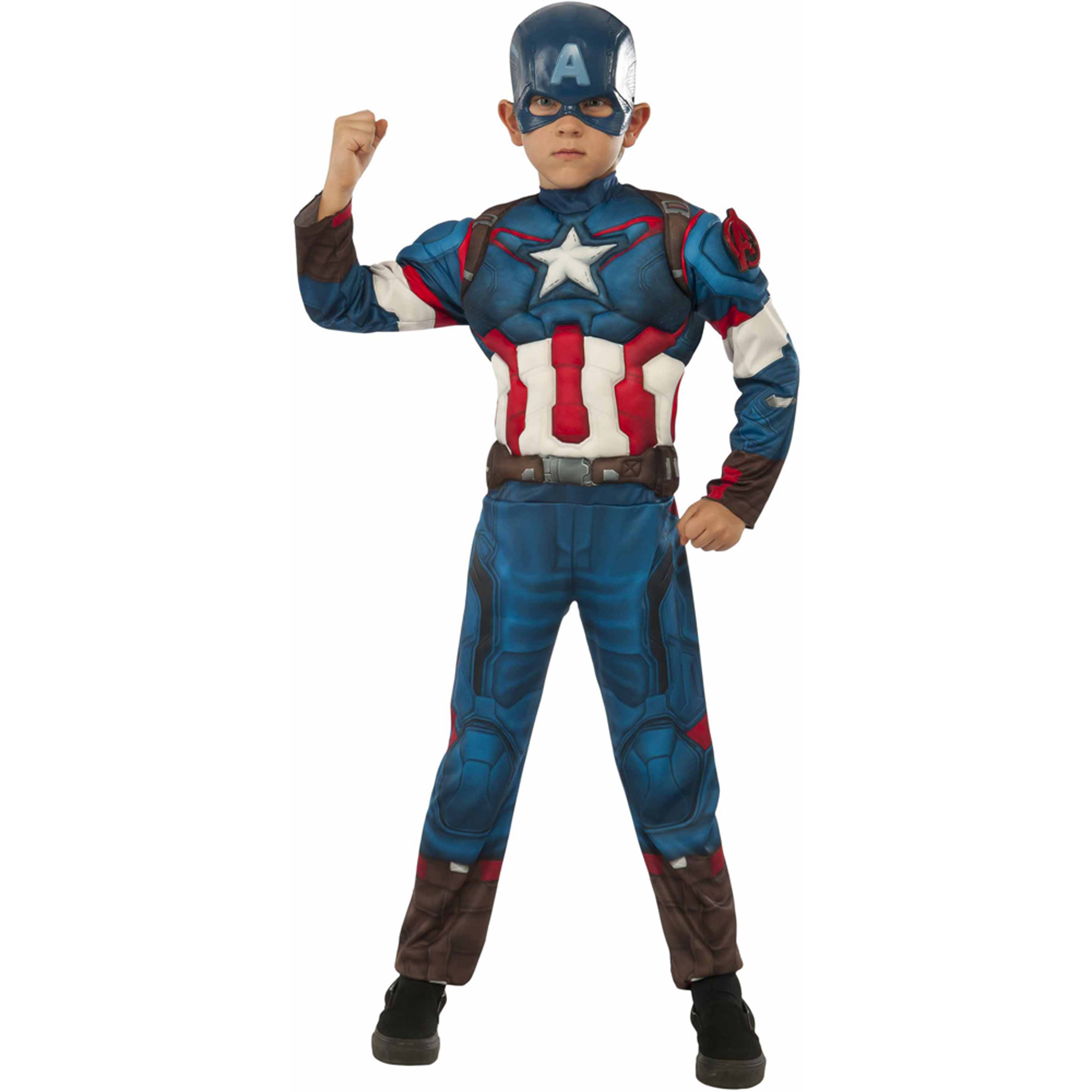 Avengers Captain America Muscle Chest Child Halloween Costume