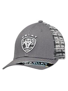 cf1ef38b540 Product Image Ariat Men s Shield Logo On Front Cap Grey OS