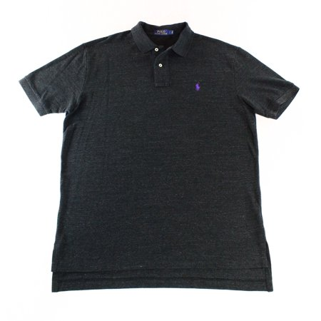 Polo Ralph Lauren Black Label (Polo Ralph Lauren NEW Black Mens Size 2XL Classic-Fit Mesh Polo Shirt)
