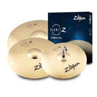 "Zildjian Planet Z Complete Cymbal Pack - 14"" Hi Hats, 16"" Crash, and 20"" Ride"