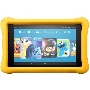 """Amazon All-New Fire HD 7 7"""" 16GB Kids Edition Tablet - Yellow"""