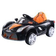 12v battery powered kids ride on car rc remote control w led lights music