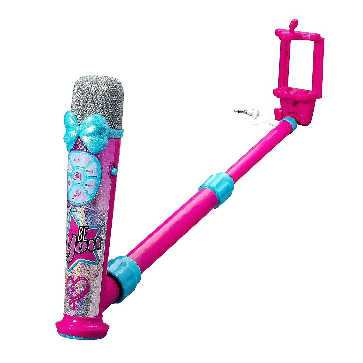 *New Jojo Siwa Selfiemic Sing Record /& Create Your Own Music Videos-Perfect Gift
