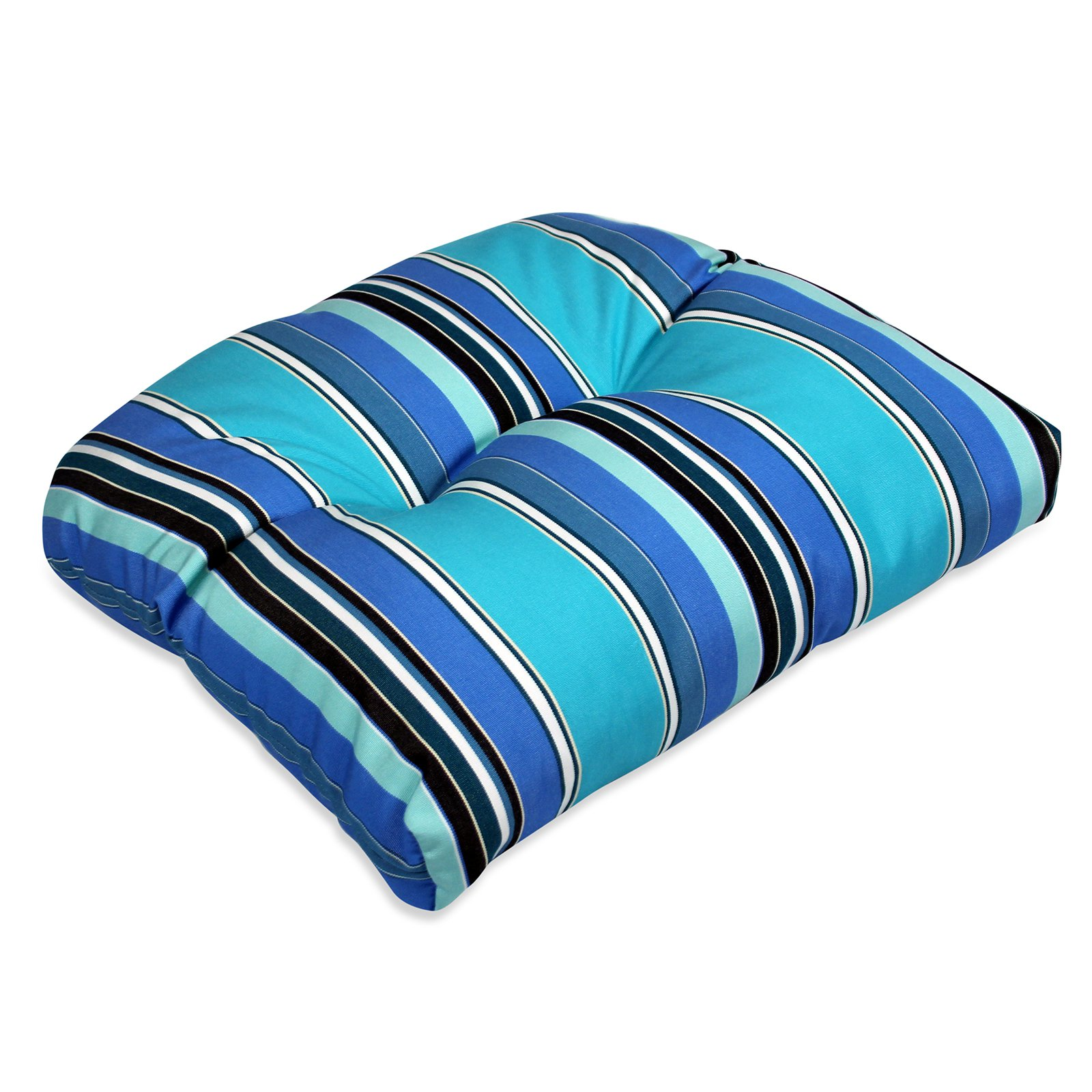 Comfort Classics 20 x 18 in. Sunbrella Wicker Seat Cushion