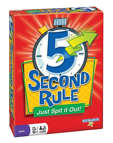 5 Second Rule Board Game by Patch Products
