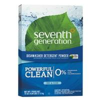 Seventh Generation Free & Clear Dishwasher Detergent Powder Fragrance Free 75 oz