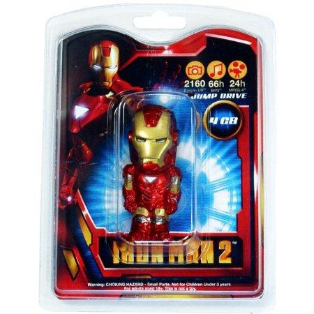 4 Gb Enterprise Usb - Iron Man 4 GB USB Flash Drive