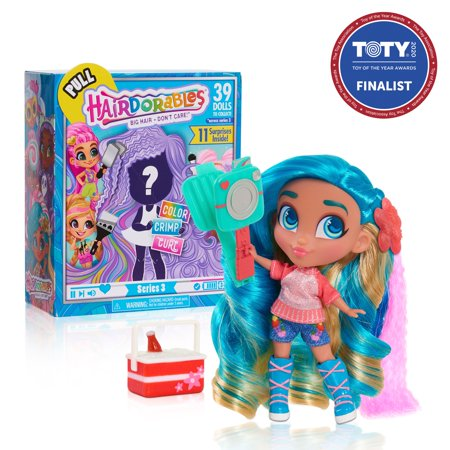Hairdorables Collectible Dolls - Series 3 (Styles May Vary)