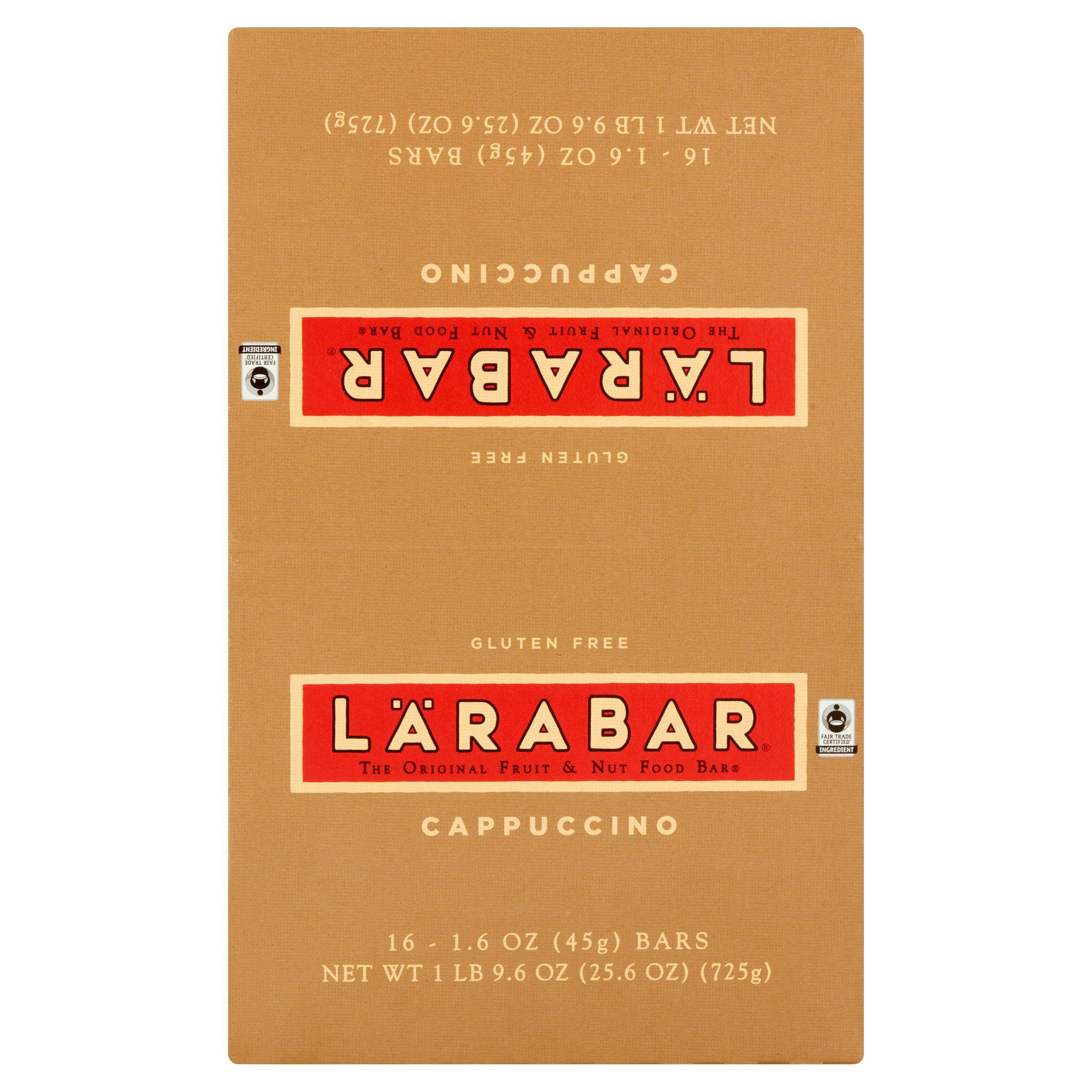 Lärabar Cappuccino Bars, 1.6 oz, 16 count