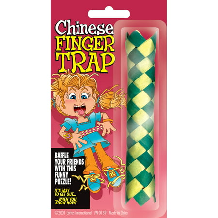Loftus Classic Paper Chinese Finger Trap 4.75