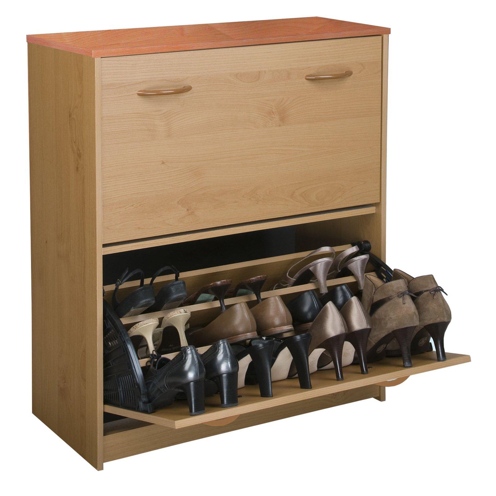 Venture Horizon Double Level Shoe Storage Cabinet