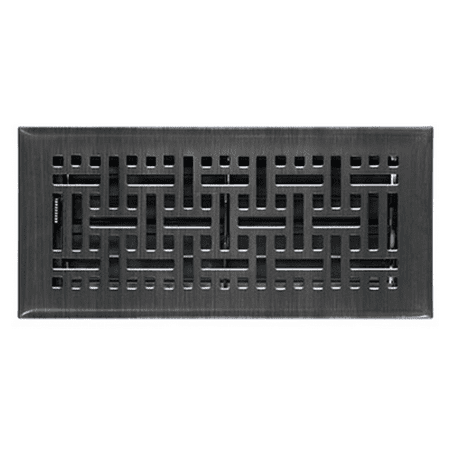 Accord Ventilation AMFRRBB214 Wicker Design Floor Register, Oil Rubbed Bronze...