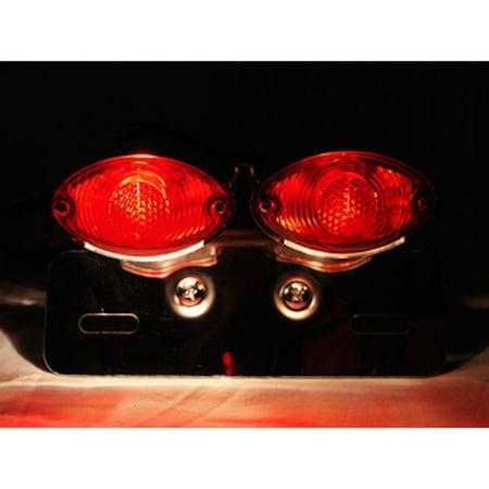 Cateye License Plate Tag Taillight Brake Light For Honda Helix Ruckus Reflex Elite Silver Wing - image 4 de 5
