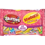 Skittles and Starburst Original Easter Candy Bag, 23.3 Oz., 57 Count