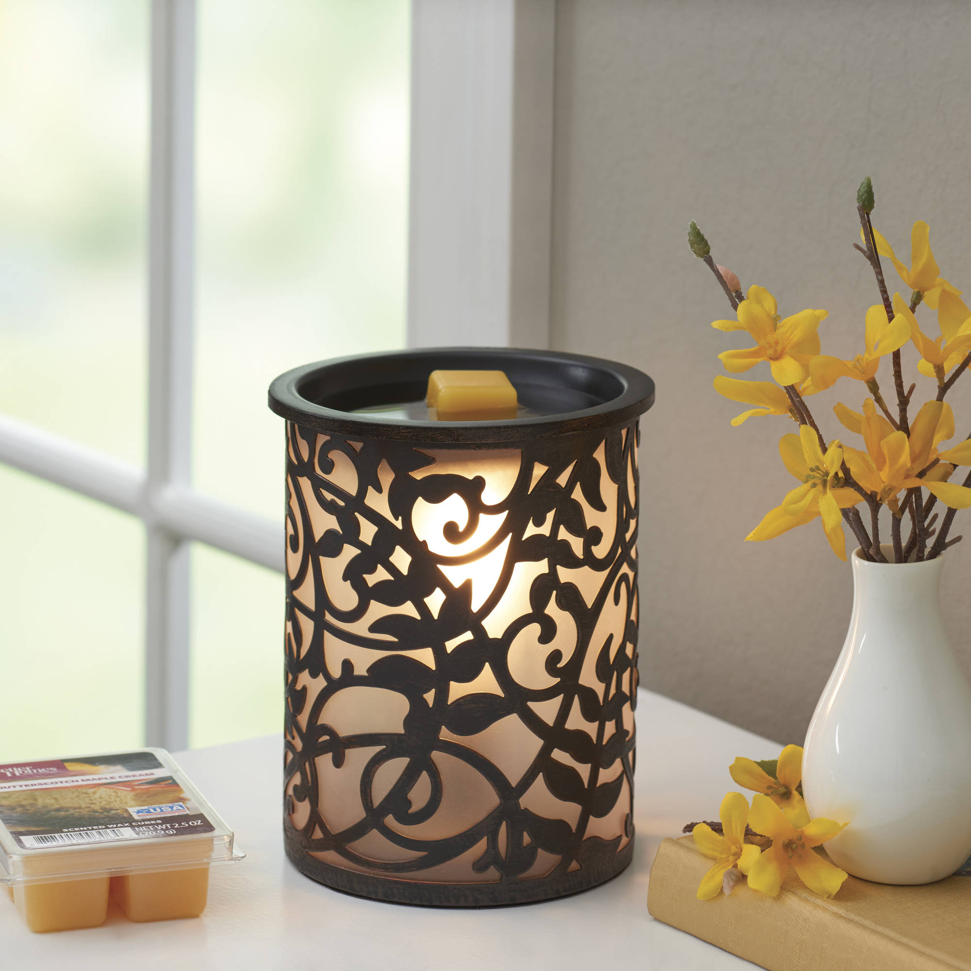 Better Homes and Gardens Wax Warmer Set, Vines