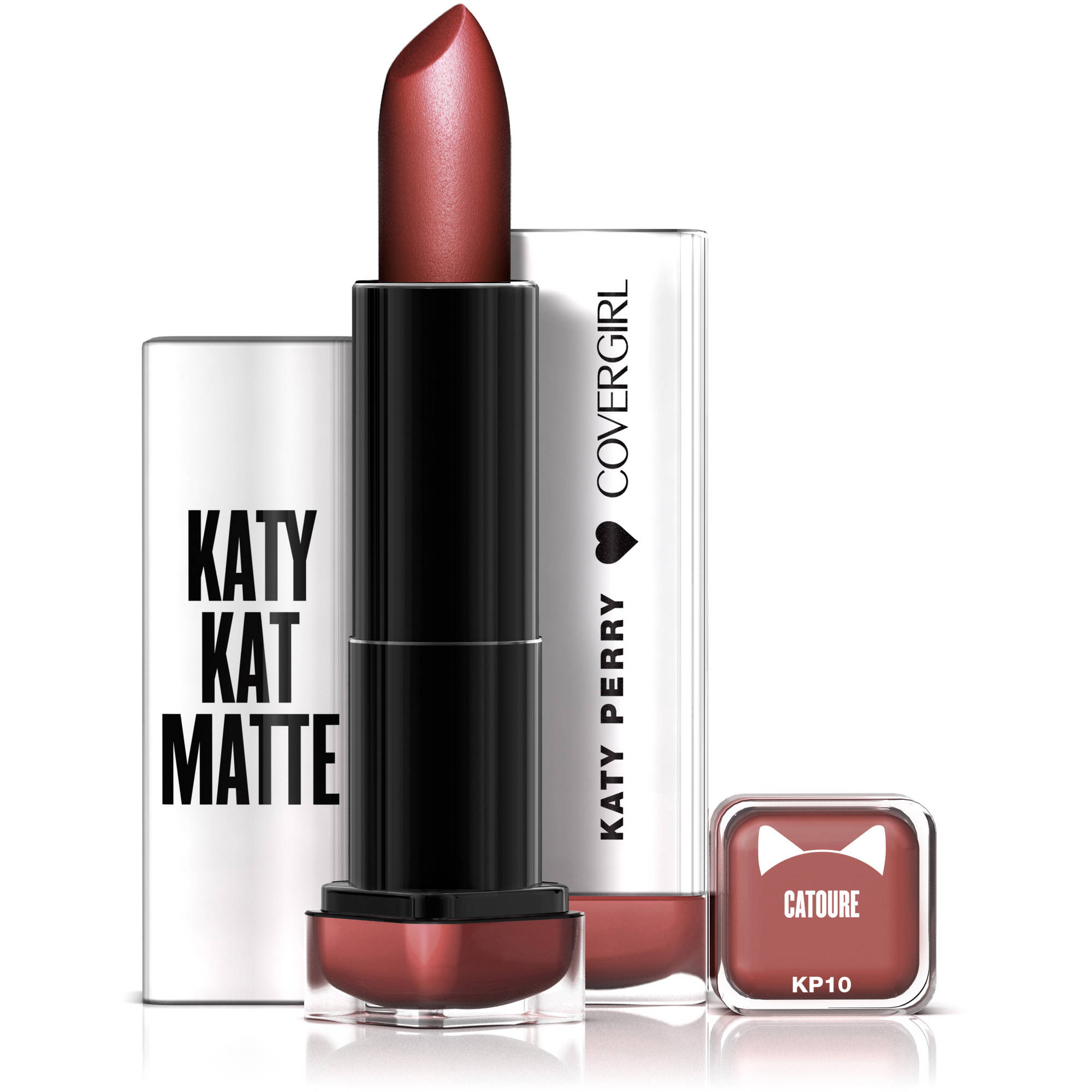 COVERGIRL Katy Kat Matte Lipstick Catoure, .12 oz created by Katy Perry