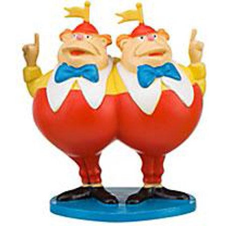 Disney Alice in Wonderland Tweedle Dee & Tweedle Dum PVC - Tweedle Dee Tweedle Dum Halloween