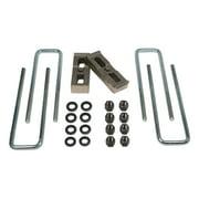 Tuff Country 97021 Axle Lift Blocks Kit; Suspension Block and U-Bolt Kit