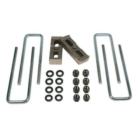 Tuff Country 97021 Axle Lift Blocks Kit; Suspension Block and U-Bolt Kit (Suspension Bolt Kit)