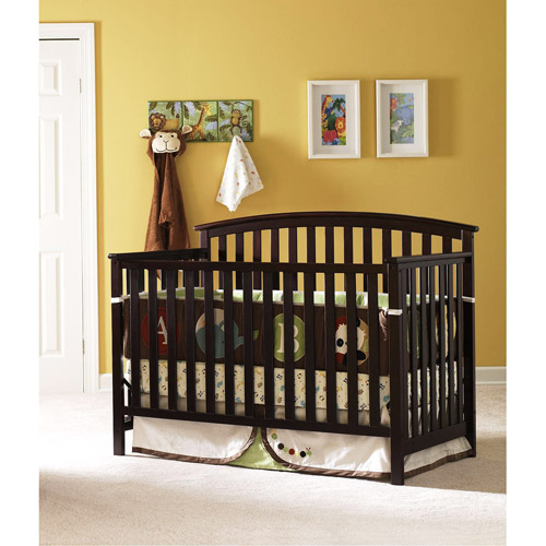 Graco Freeport 4-in-1 Convertible Crib Espresso