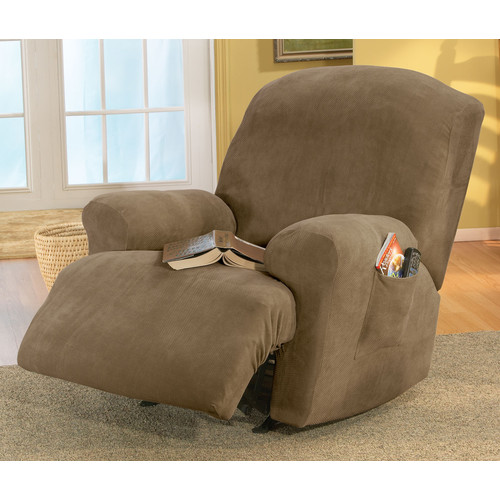 This button opens a dialog that displays additional images for this product with the option to zoom in or out. & Sure Fit Stretch Pique T-Cushion Recliner Slipcover - Walmart.com islam-shia.org