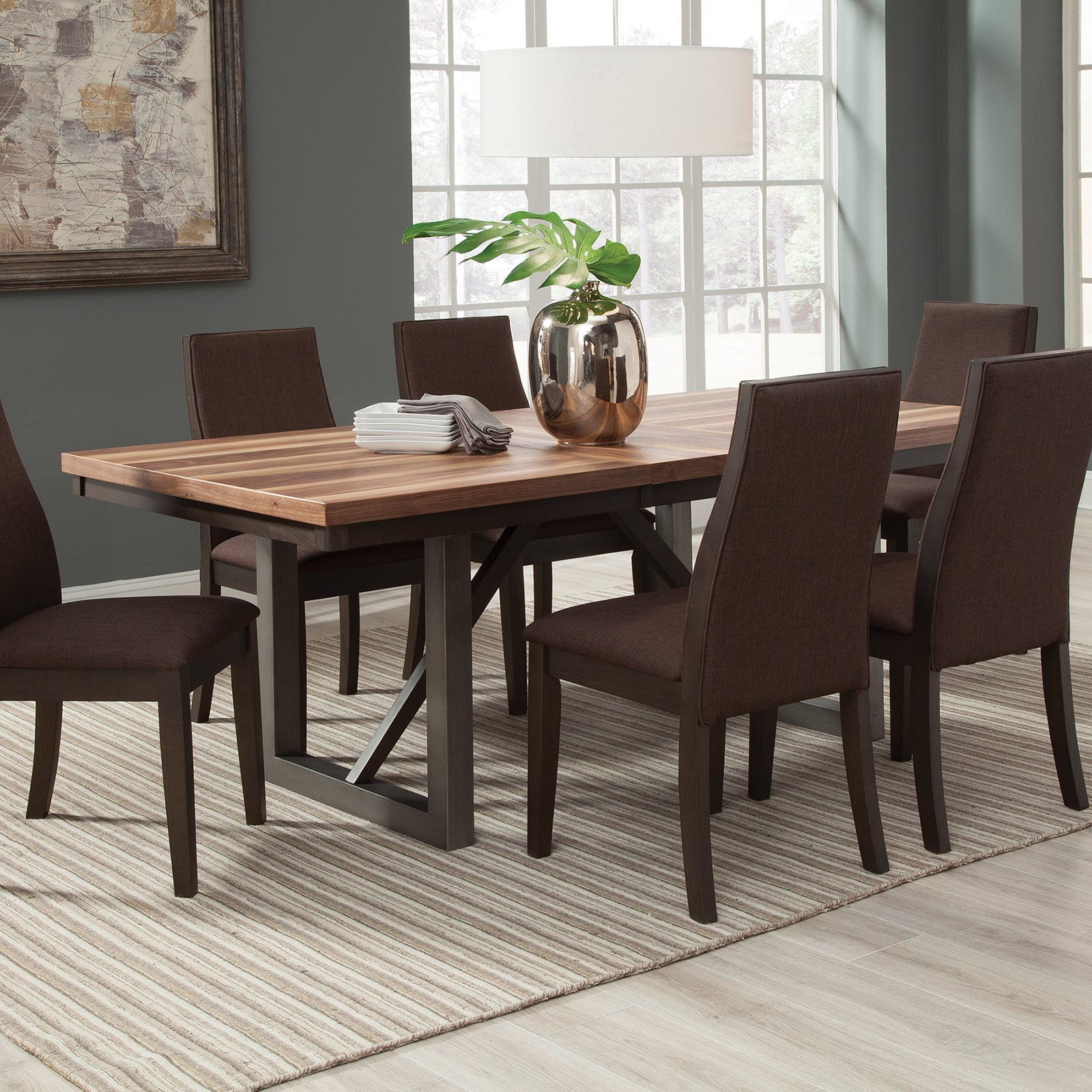 Walmart Table: Coaster Furniture Spring Creek Dining Table