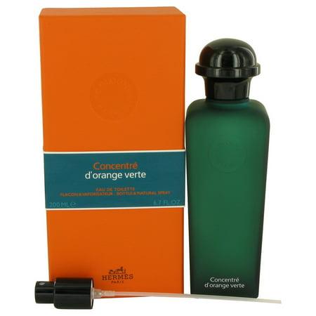 Hermes EAU D'ORANGE VERTE Eau De Toilette Spray Concentre (Unisex) for Men 6.7