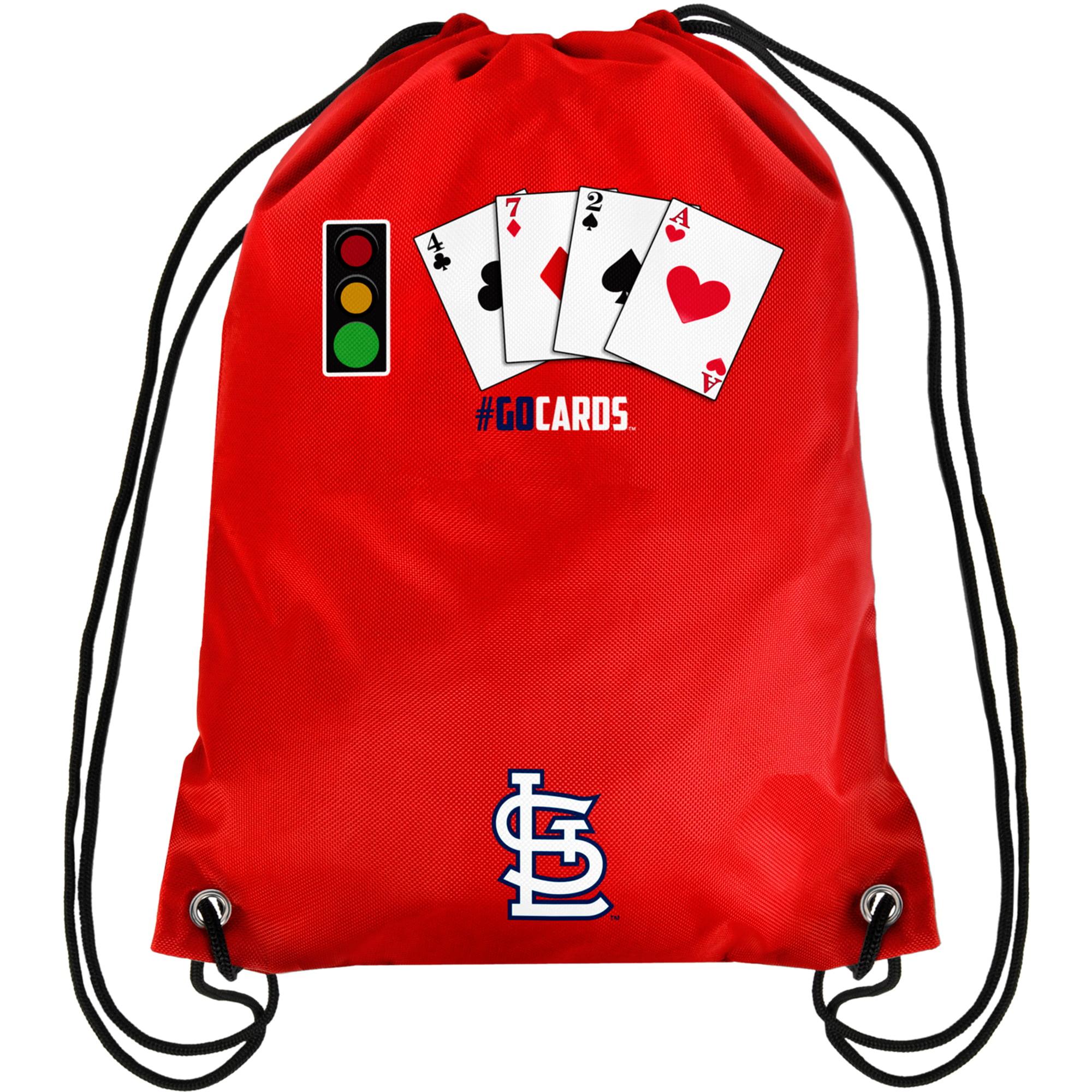 St. Louis Cardinals Teamoji Drawstring Backpack - No Size