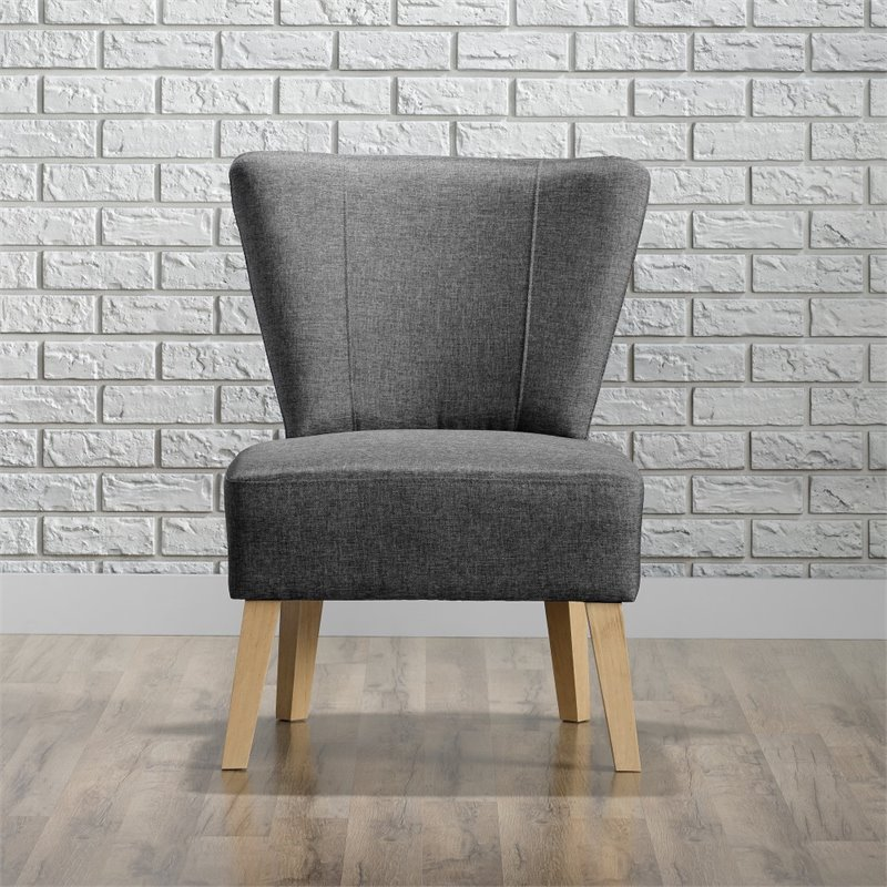 Sauder Square 1 Chair, Cinder Grey