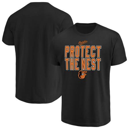 - Men's Majestic Black Baltimore Orioles Alias T-Shirt